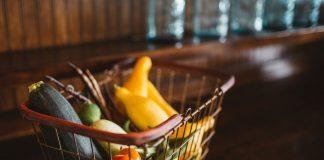 basket vegetables food fresh